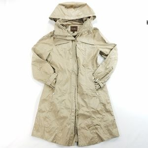 Cole Haan Womens Light Weight Trench Jacket Coat